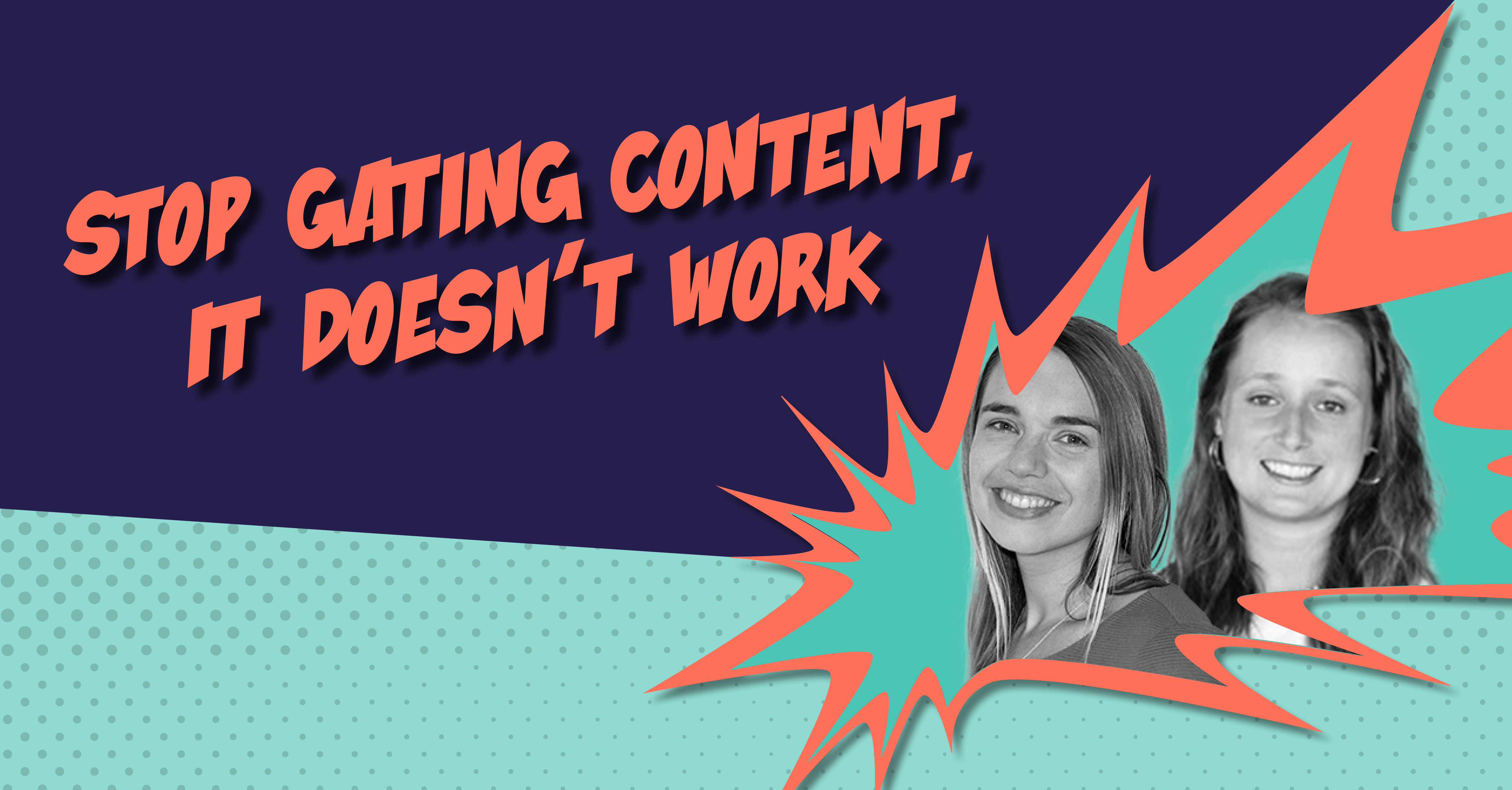 Stop Gating Content - LP Header